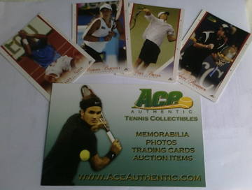 tennis trading cards